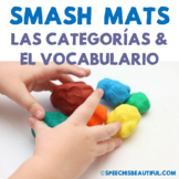 Preschool Basic Categories Smash Mats {SPANISH} - Sorting