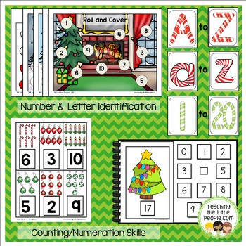 Preschool Basic Skills Activities: Christmas Theme