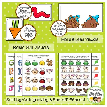 Preschool Basic Skills Activities:  Spring Theme