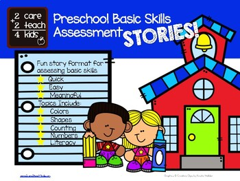 Preschool Basic Skills Assessment STORIES!