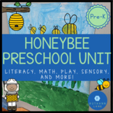 Preschool Bee Themed Unit Pre-K Unit All About Bees Fun Su