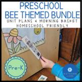 Preschool Bee Themed Unit and Bee Themed Morning Basket Bundle