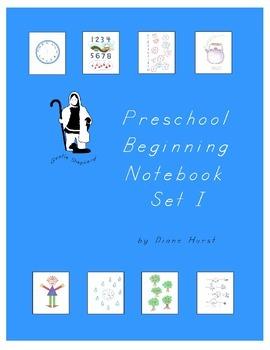 Preschool Beginning Notebook - Set I