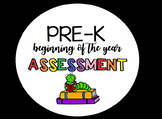 Preschool Beginning of Year Assessment
