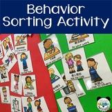 Preschool Behavior and Rules Activity