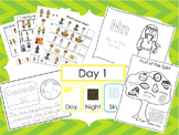 Preschool Bible Curriculum. Games, Worksheets, Flashcards, Bulletin Board Sets.