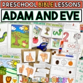 Preschool Bible Lessons: Adam and Eve