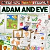 Preschool Bible Lessons: Adam and Eve