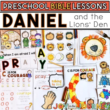 Preschool Bible Lessons: Daniel and the Lions Den