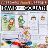 Preschool Bible Lessons: David and Goliath