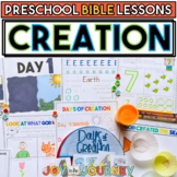 Preschool Bible Lessons: God Created the World