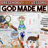 Preschool Bible Lessons: God Made Me Special