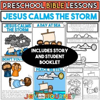 Preschool Bible Lessons: Jesus Calms the Sea
