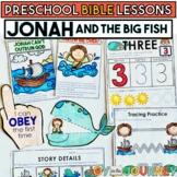 Preschool Bible Lessons: Jonah and the Big Fish