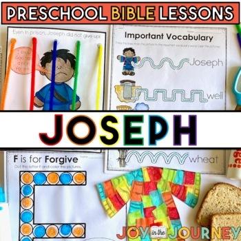 Preschool Bible Lessons: Joseph