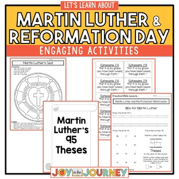 Preschool Bible Lessons: Martin Luther and the Protestant Reformation