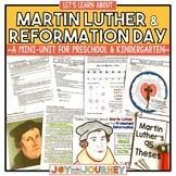 Martin Luther & Reformation Day (Preschool and Kindergarten)