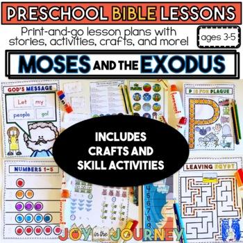 Free Preschool Bible Lesson On Pharaoh And Moses Art Ideas