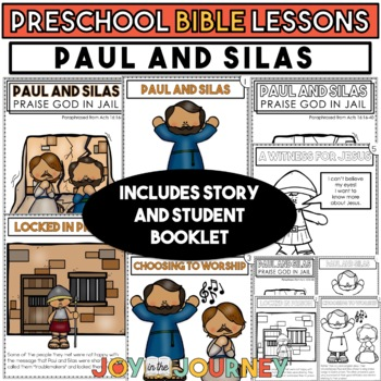 Preschool Bible Lessons: Paul and Silas Praise God in Jail