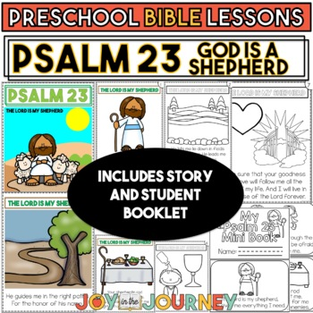 Preschool Bible Lessons: Psalm 23