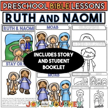 Preschool Bible Lessons: Ruth and Naomi (Loyalty)