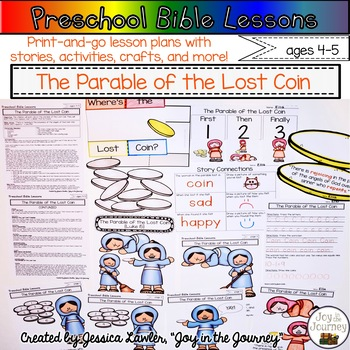 Preschool Bible Lessons: The Parable of the Lost Coin