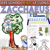 Preschool Bible Lessons: Zacchaeus