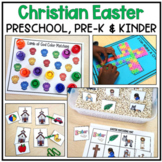 Christian Easter Activities for Preschool, Pre-K and Kindergarten
