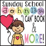 Preschool Bible Lesson Love One Another Commandment Book C