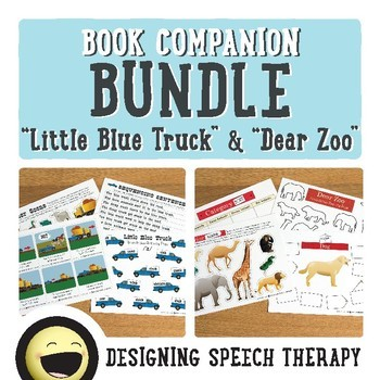 Preschool Book Companions for Speech and Language BUNDLE