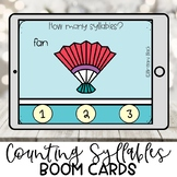 Preschool Boom Cards | Counting Syllables | Distance Learning