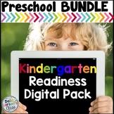 Preschool Boom Cards Digital Bundle - Kindergarten Readiness