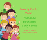 Preschool Bootcamp Transition Songs