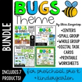 Preschool Bugs Theme BUNDLE