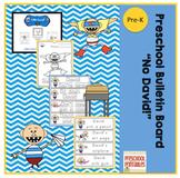 "Preschool Bulletin Board ""No David"""