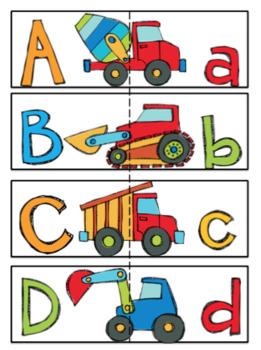 Preschool Bundle Construction Vehicles