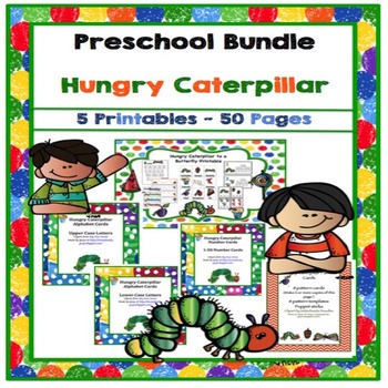 Preschool Bundle Hungry Caterpillar