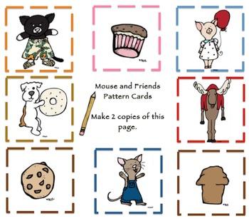 Preschool Bundle Mouse and Friends