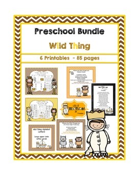 Preschool Bundle Wild Thing