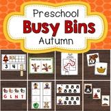 Preschool Busy Bins Morning Tubs Autumn Activities