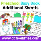 Preschool Busy Book Activity Binder Learning Folder - Add-Ons