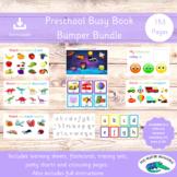 Preschool Busy Book Bundle - Nursery Learning Resources - Toddler Activities
