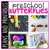 Preschool: Butterflies {Plans and Printables}