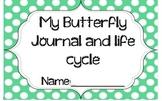 Preschool Butterfly Life Cycle Journal