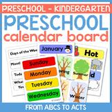 Preschool Calendar Board Set