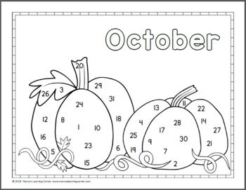 Preschool Calendar Notebook for 2018-2019