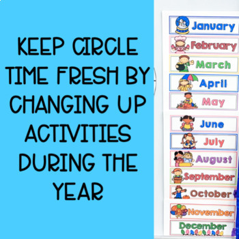 Circle Time for Pre-K