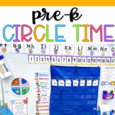 Pre-K Circle Time Board and Songs