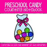 Preschool Candy Counting Notebook 1-25