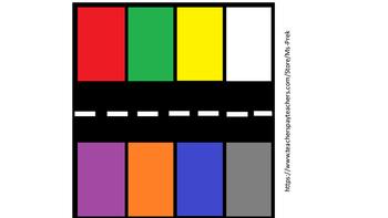 Preschool Car Color Matching